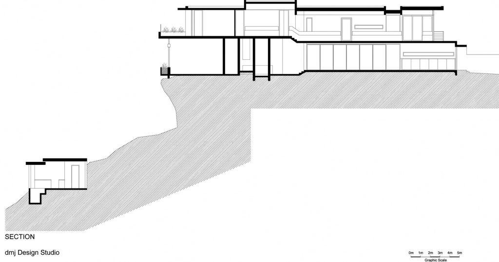 Plans d'étage - Résidence du 36 Kangaroo Point Road - Sydney, Nouvelle-Galles du Sud, Australie