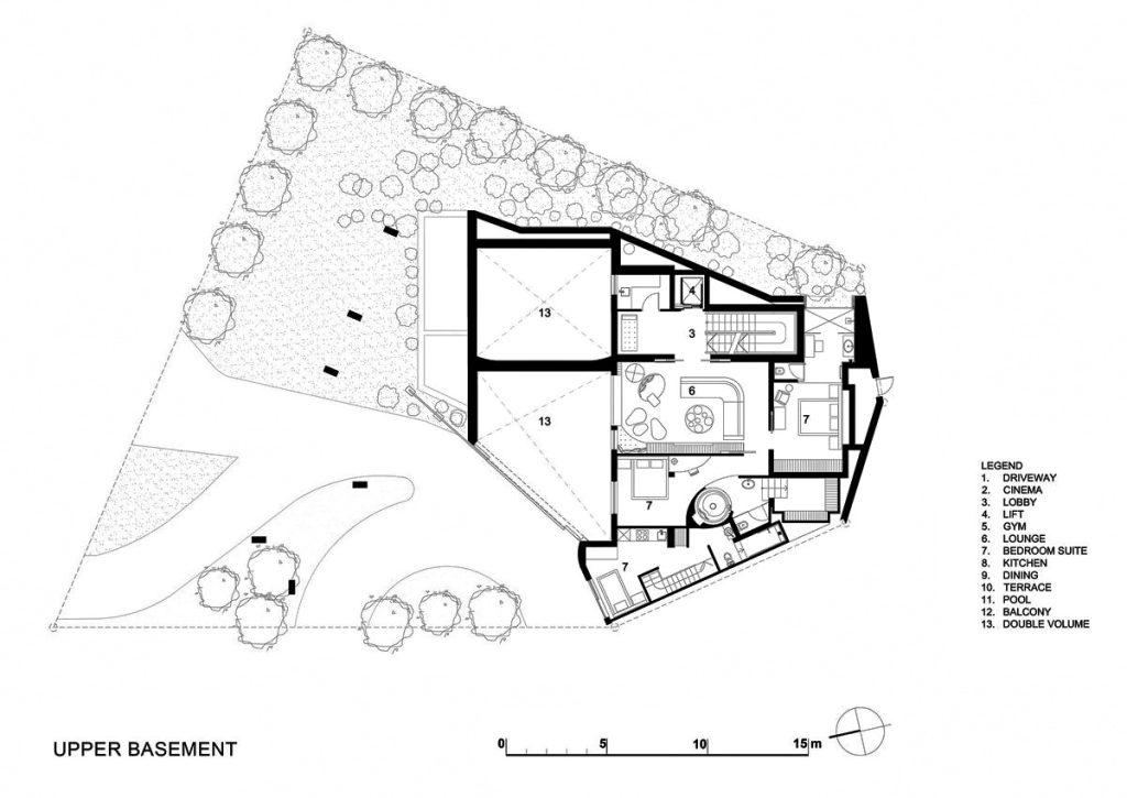 Plans d'étage - Head Road 1843 - Fresnaye, Le Cap, Cap-Occidental, Afrique du Sud