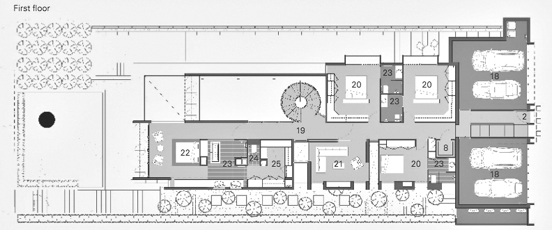 Plans d'étage - Résidence 18 Verdant Avenue - Toorak, Melbourne, Victoria, Australie