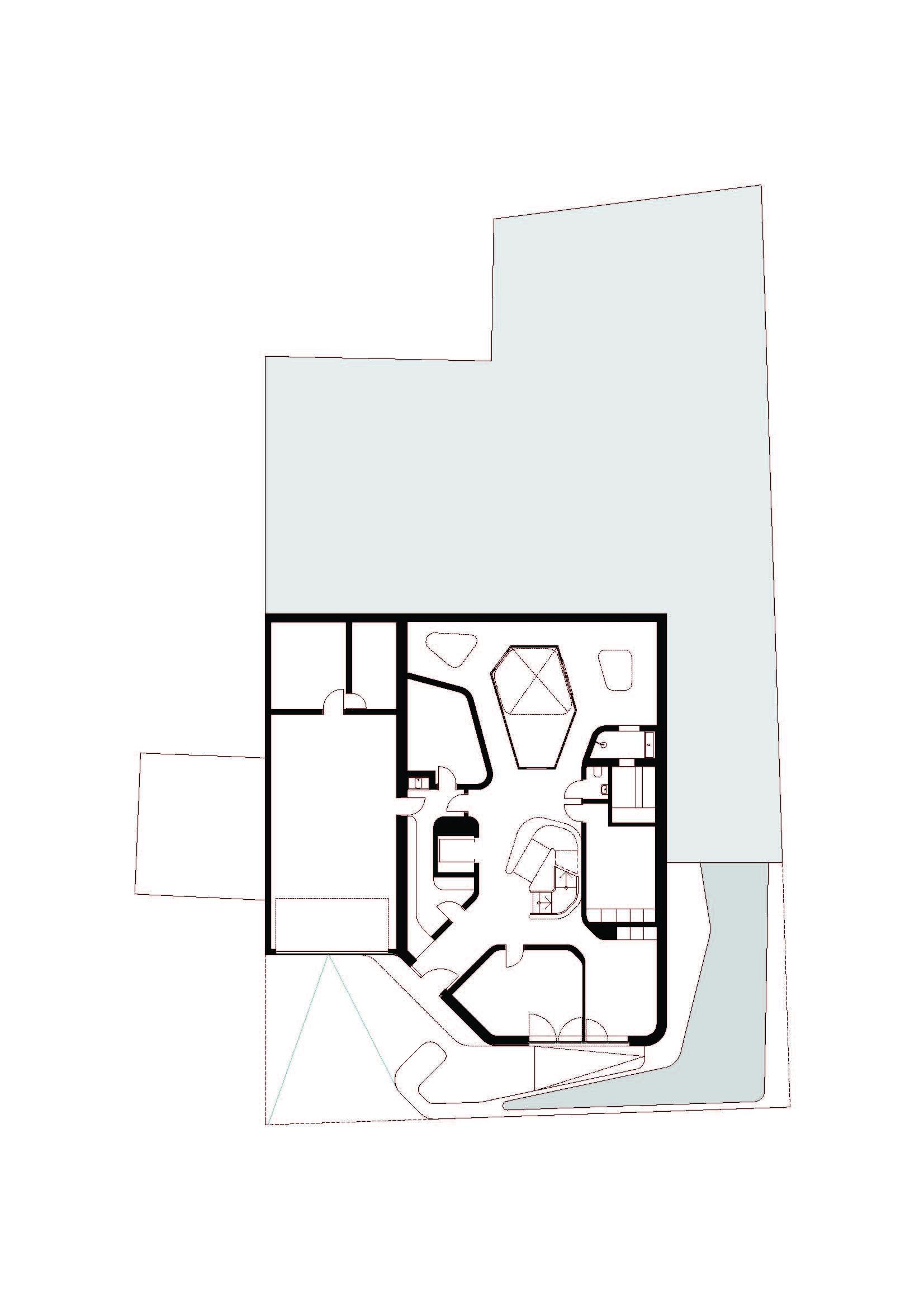 Plans d'étage – Maison OLS – Stuttgart, Bade-Wurtemberg, Allemagne