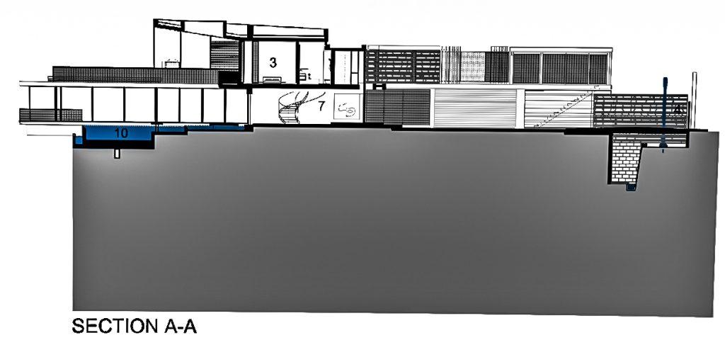 Sections - Plans d'étage - Résidence Dakar Sow - Dakar, Sénégal