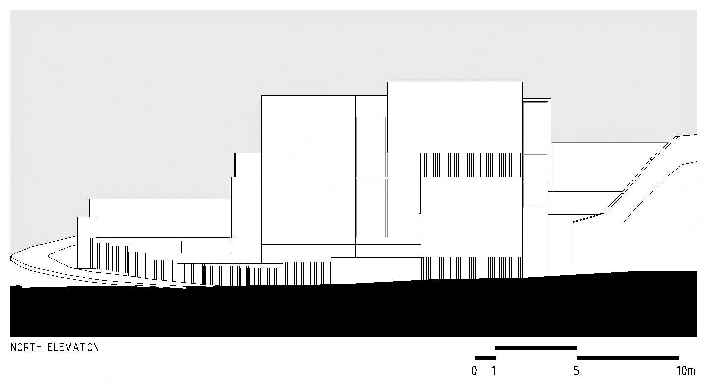 Élévations – La Maison du Palais des Arches – Oeiras, Lisbonne, Portugal