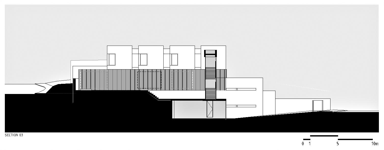 Sections – La Maison du Palais des Arches – Oeiras, Lisbonne, Portugal