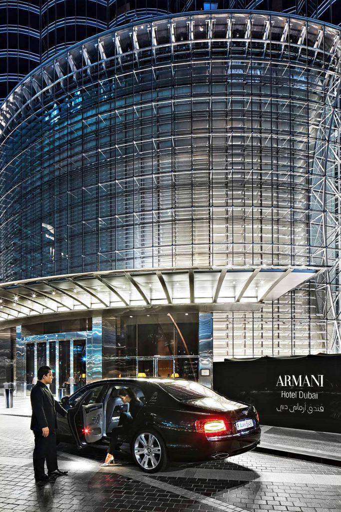 Armani Hotel Dubai - Burj Khalifa, Dubaï, Émirats arabes unis - Arrivée de luxe