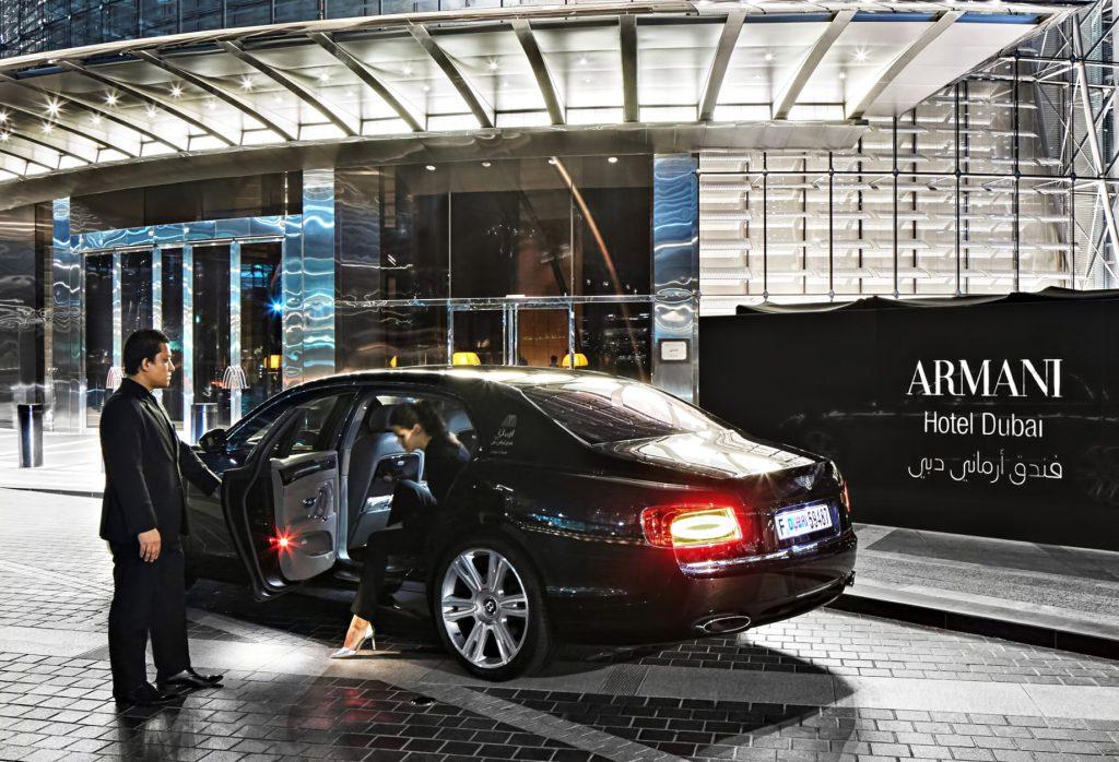 Armani Hotel Dubai - Burj Khalifa, Dubaï, Émirats arabes unis - Concierge d'arrivée