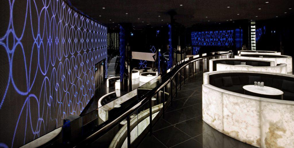 Armani Hotel Dubai - Burj Khalifa, Dubaï, Émirats arabes unis - Intérieur de la boîte de nuit Armani Prive