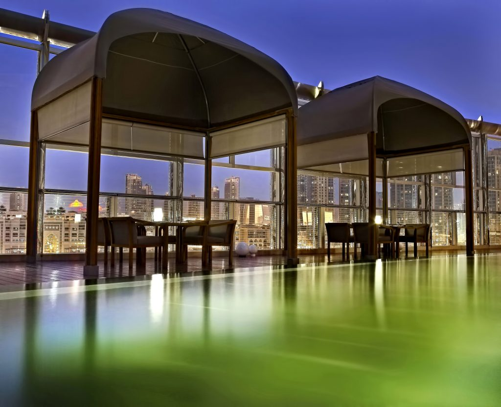 Armani Hotel Dubai - Burj Khalifa, Dubaï, Émirats arabes unis - Expérience de dîner en plein air Armani Amal