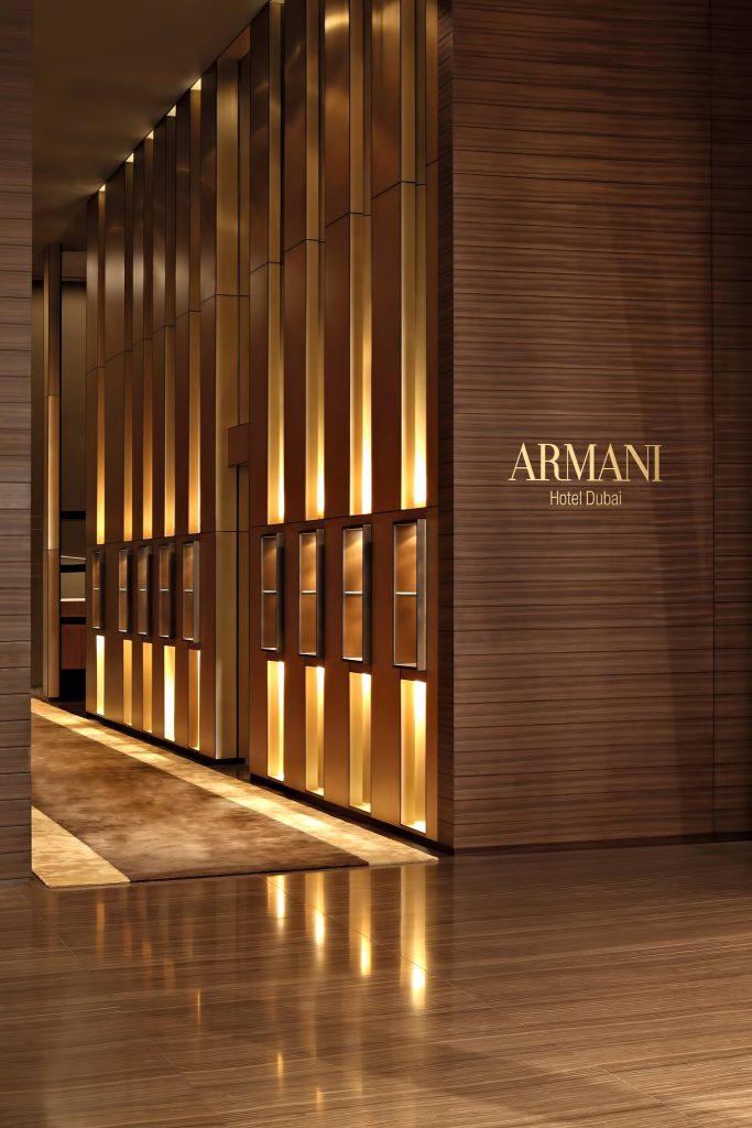 Armani Hotel Dubai - Burj Khalifa, Dubaï, Émirats arabes unis - Intérieur de l'hôtel Armani