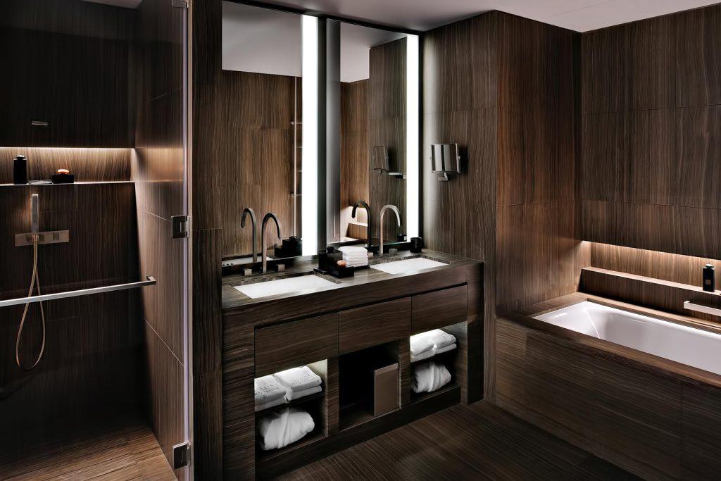 Armani Hotel Dubai - Burj Khalifa, Dubaï, Émirats arabes unis - Salle de bain Armani