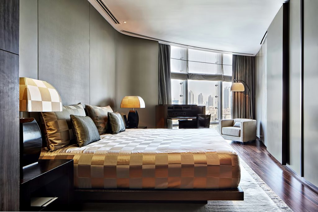 Armani Hotel Dubai - Burj Khalifa, Dubaï, Émirats arabes unis - Chambre de la Suite Ambassadeur Armani