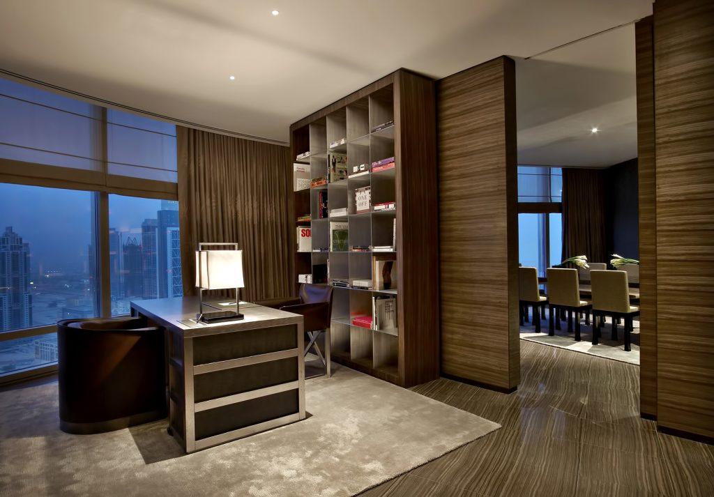 Armani Hotel Dubai - Burj Khalifa, Dubaï, Émirats arabes unis - Design d'intérieur Armani Signature