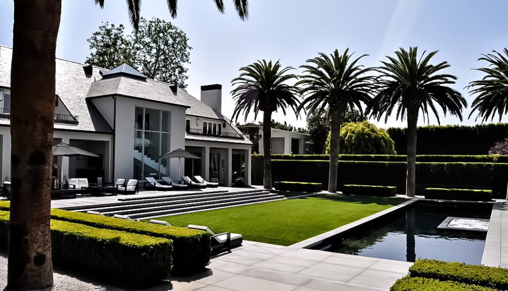 L'ancienne résidence de Simon Cowell - 717 N Palm Drive, Beverly Hills, CA, États-Unis