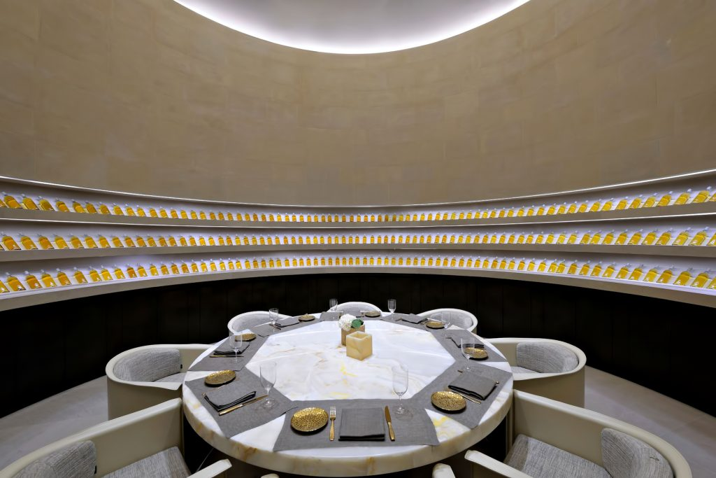 Armani Hotel Dubai - Burj Khalifa, Dubaï, Émirats arabes unis - Salle à manger privée du restaurant Armani
