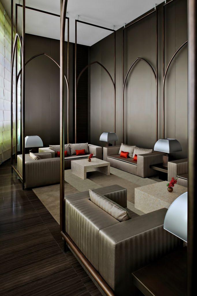 Armani Hotel Dubai - Burj Khalifa, Dubaï, Émirats arabes unis - Salle privée Armani Al Majlis