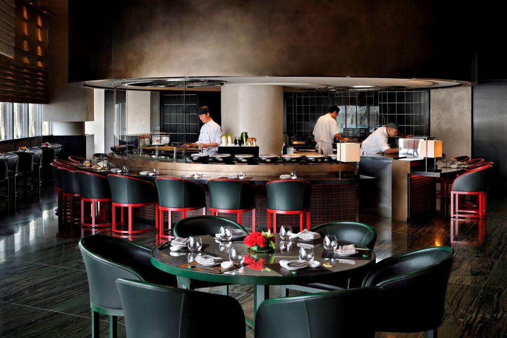 Armani Hotel Dubai - Burj Khalifa, Dubaï, Émirats arabes unis - Cuisine Armani Hashi