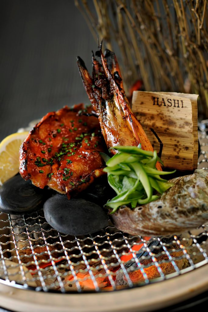 Armani Hotel Dubai - Burj Khalifa, Dubaï, Émirats arabes unis - Armani Hashi délice culinaire exquis
