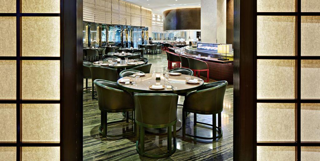 Armani Hotel Dubai - Burj Khalifa, Dubaï, Émirats arabes unis - Salle à manger Armani Hashi