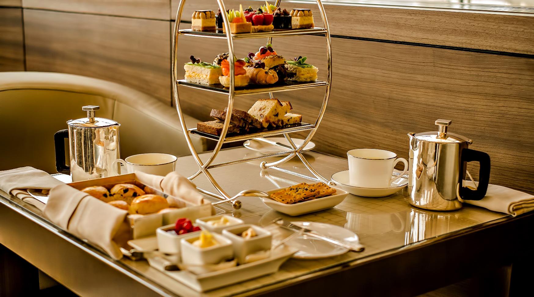 Armani Hotel Dubai – Burj Khalifa, Dubaï, Émirats arabes unis – Service à thé Armani