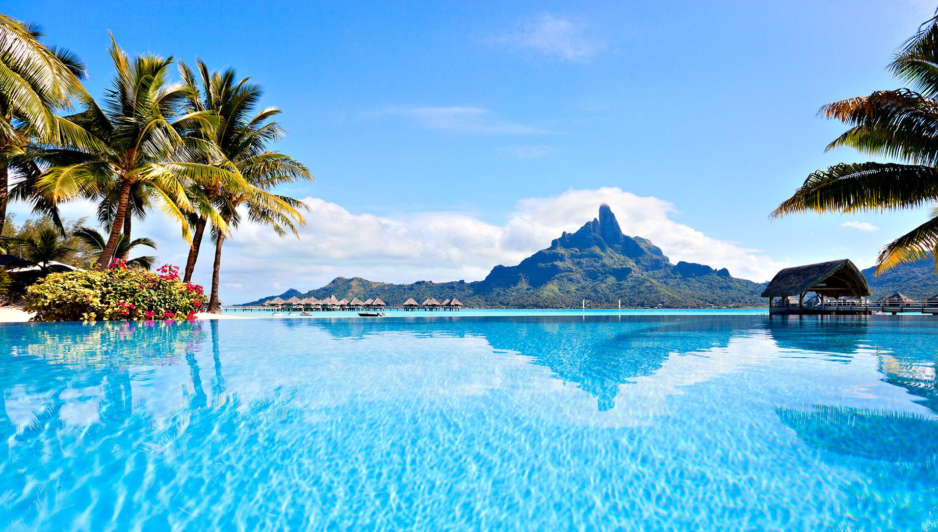 Bora-Bora, Polynésie française - Top 10 des destinations de voyage de luxe dans le monde