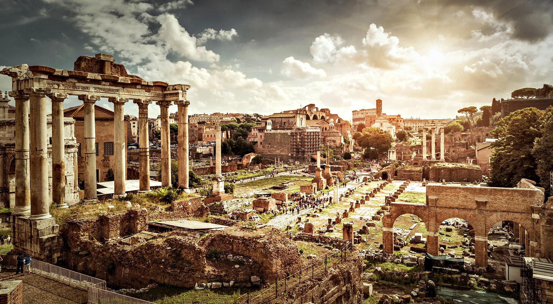 Forum romain - Rome, Italie - Top 10 des destinations de voyage de luxe dans le monde