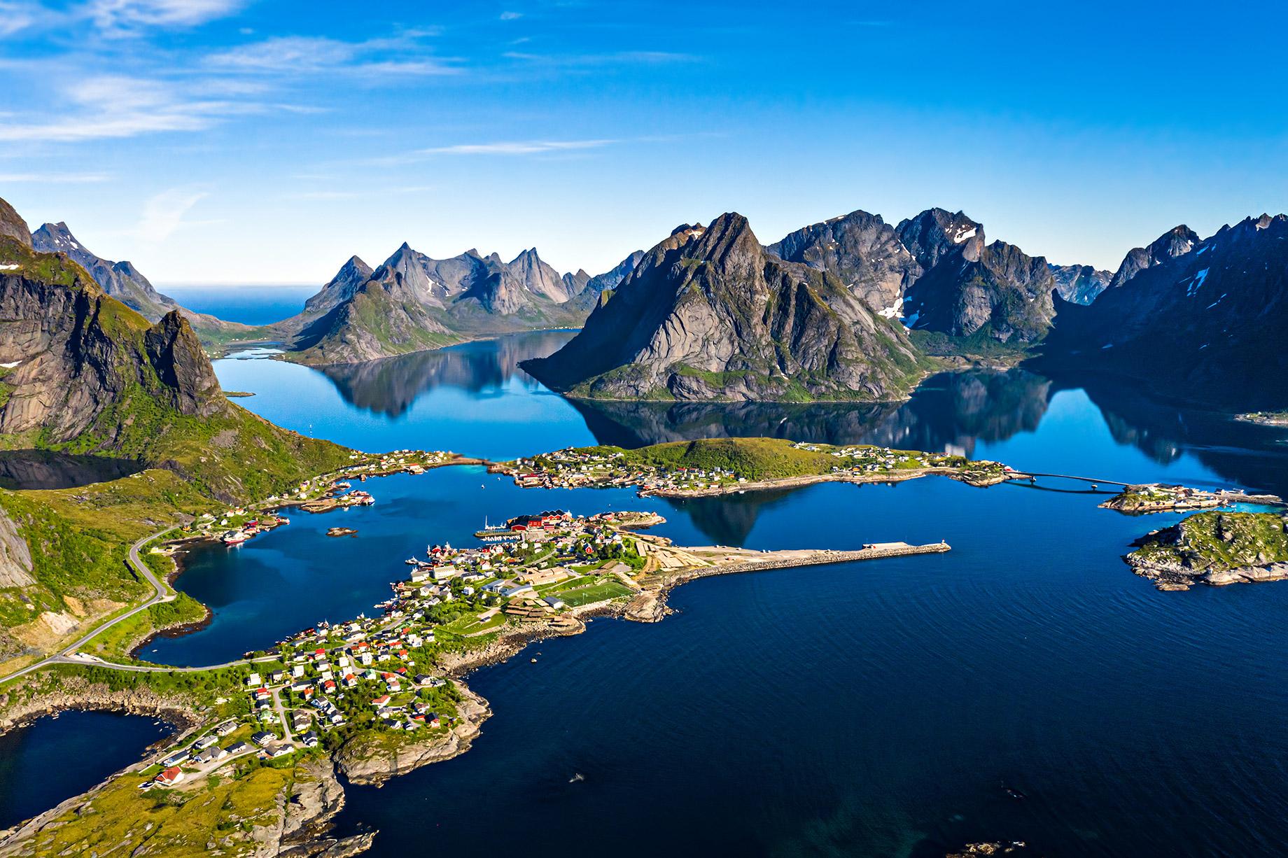 Lofoten, Nordland, Norvège - Top 10 des destinations de voyage de luxe dans le monde