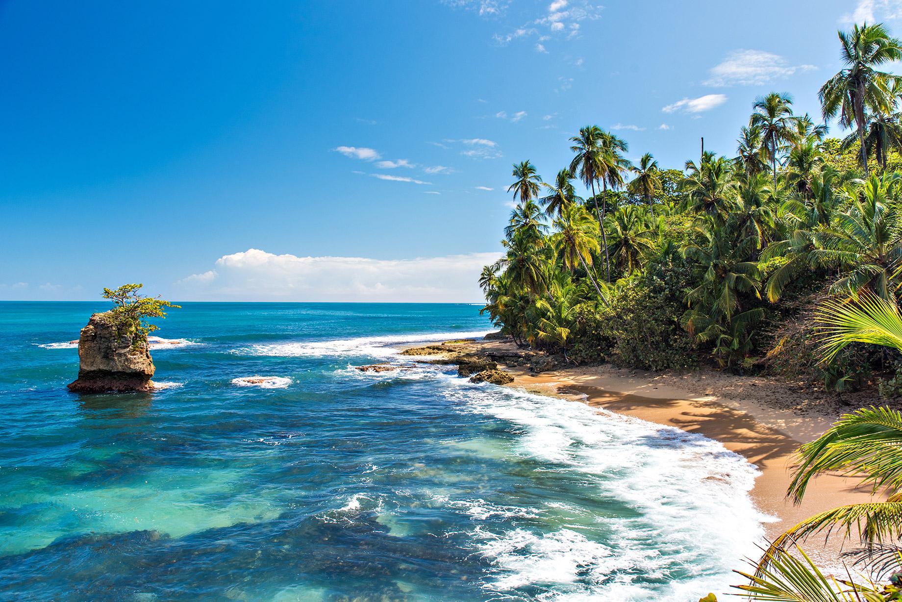 Plage sauvage des Caraïbes de Manzanillo - Puerto Viejo, Costa Rica - Top 10 des destinations de voyage de luxe dans le monde
