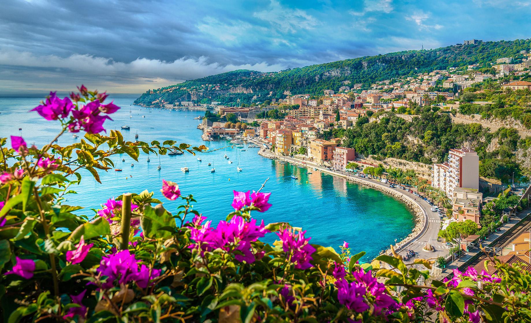 Villefranche-sur-Mer, Nice, Provence-Alpes-Côte d'Azur, France - Top 10 des destinations de voyage de luxe dans le monde