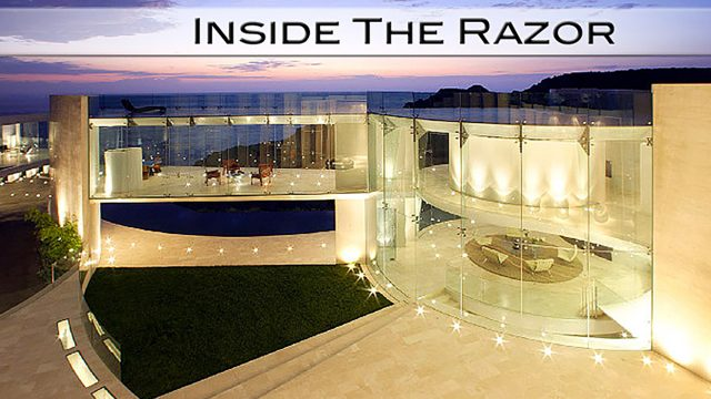 Inside The Razor - 11,000 sq. ft. California Masterpiece for $19.3 Million