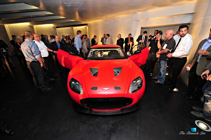 Aston Martin Reveals the V12 Zagato Supercar at The Razor Residence