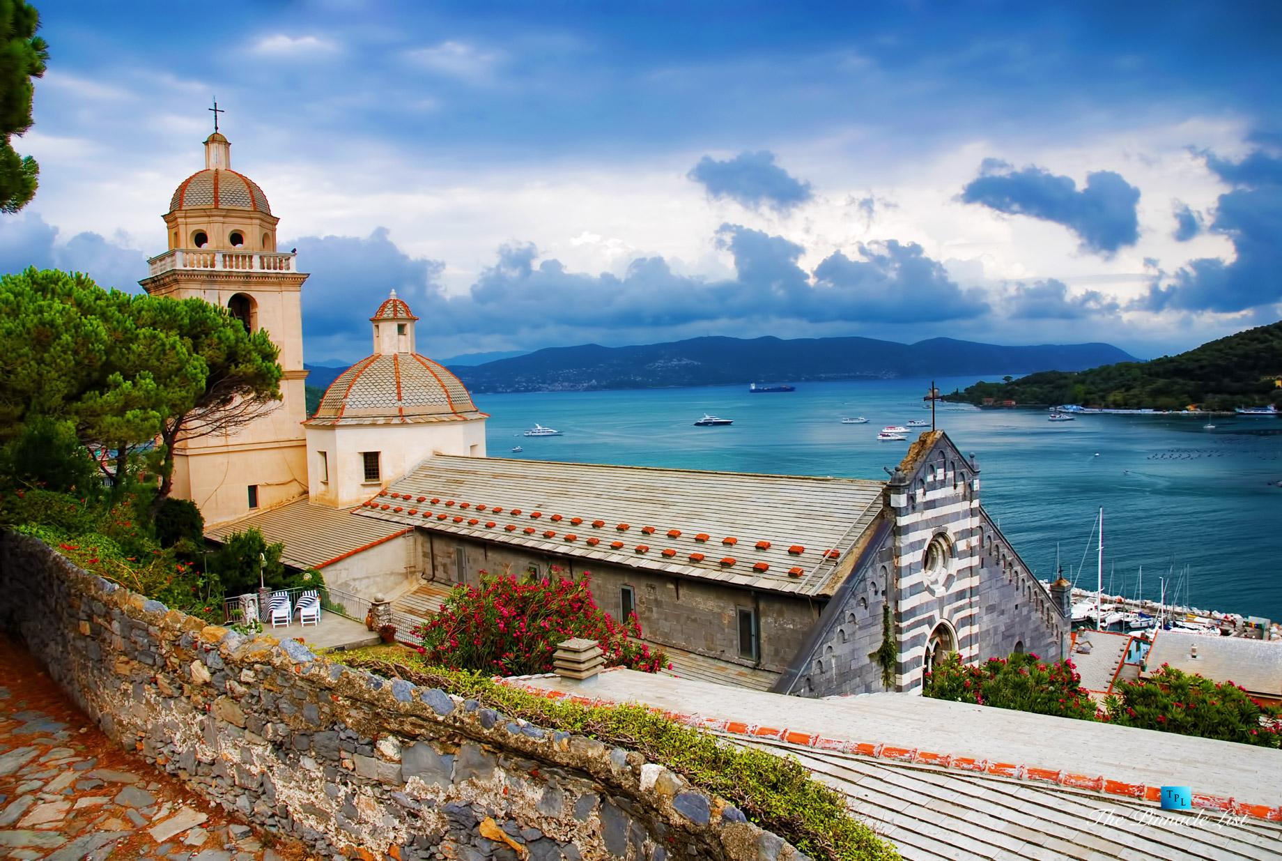 Romanesque Church of St. Lawrence - Portovenere, La Spezia, Liguria - Italy's Hidden Treasure