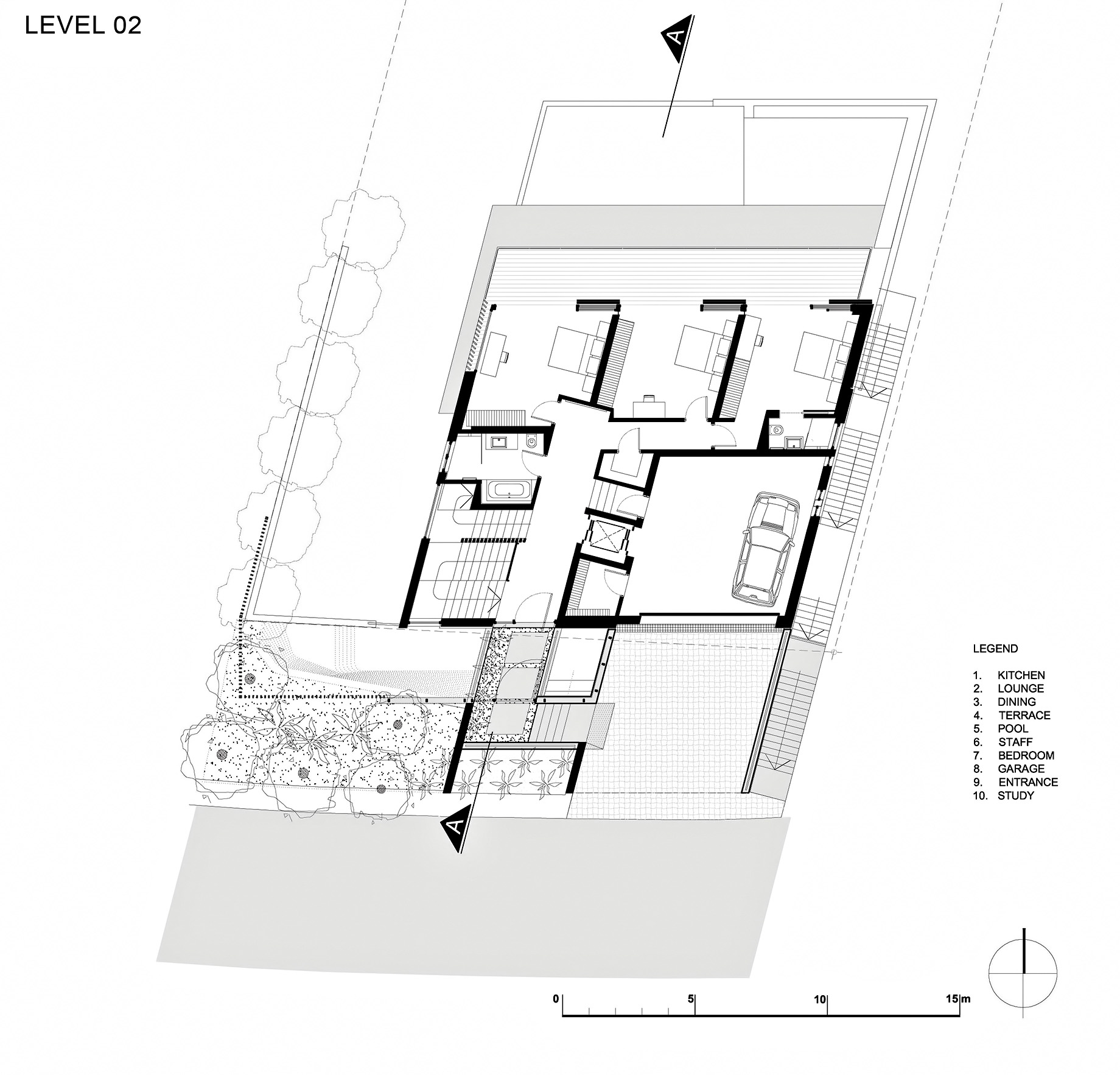 Floor Plans - Level 2 - Head Road 1816 - Fresnaye, Cape Town, Western Cape, South Africa