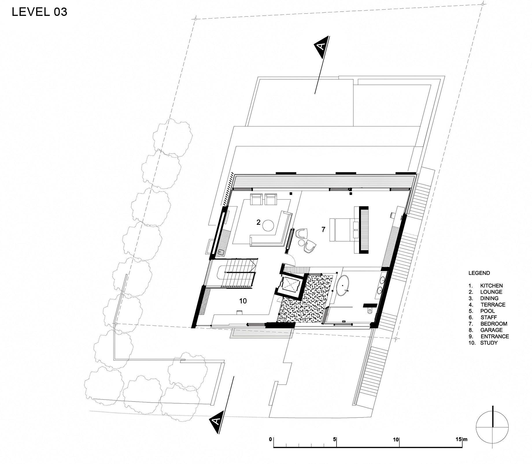 Floor Plans - Level 3 - Head Road 1816 - Fresnaye, Cape Town, Western Cape, South Africa