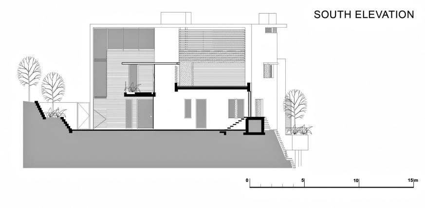 South Elevation - Level 3 - Head Road 1816 - Fresnaye, Cape Town, Western Cape, South Africa