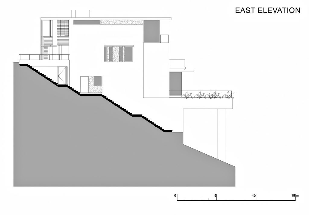 East Elevation - Level 3 - Head Road 1816 - Fresnaye, Cape Town, Western Cape, South Africa