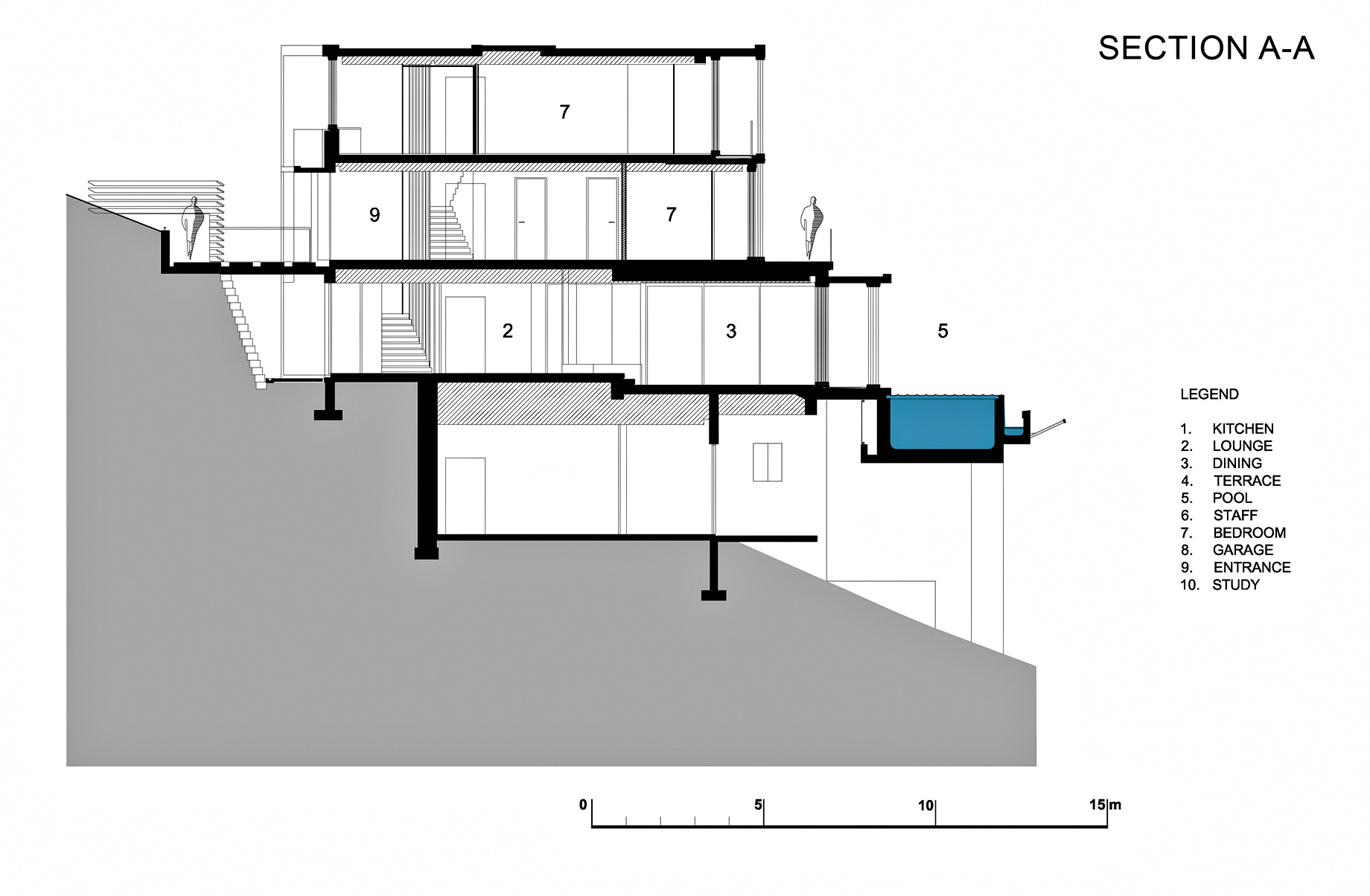 Sections - Level 3 - Head Road 1816 - Fresnaye, Cape Town, Western Cape, South Africa