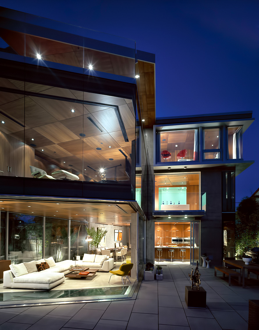 Lemperle Glass House Residence - 5672 Dolphin Place, La Jolla, San Diego, CA, USA