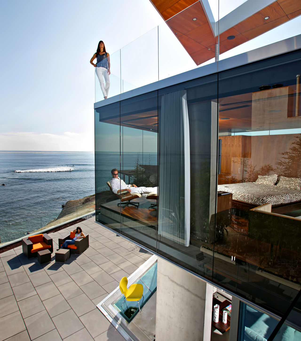 Lemperle Glass House Residence – 5672 Dolphin Place, La Jolla, San Diego, CA, USA
