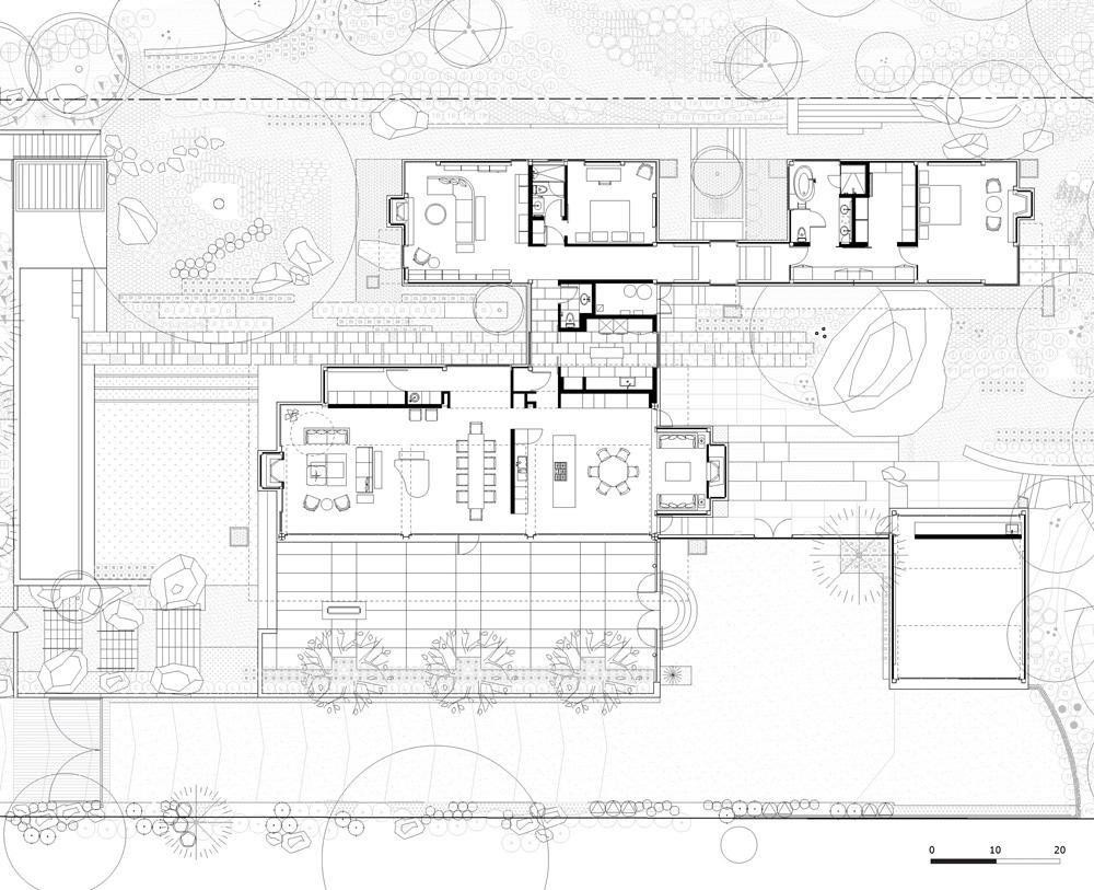 Floor Plans - Ladera Residence - Montecito, CA, USA