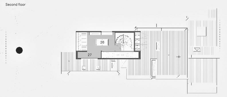 Second Floor Plan - 18 Verdant Avenue - Toorak, Melbourne, Victoria, Australia