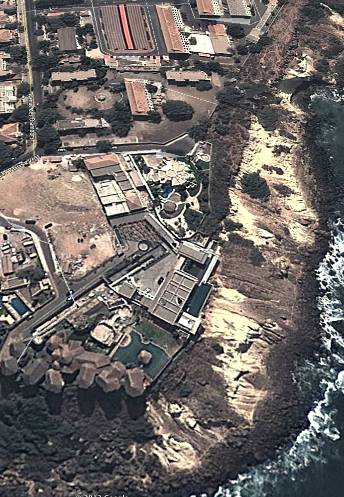 Aerial - Dakar Sow Residence - Dakar, Senegal