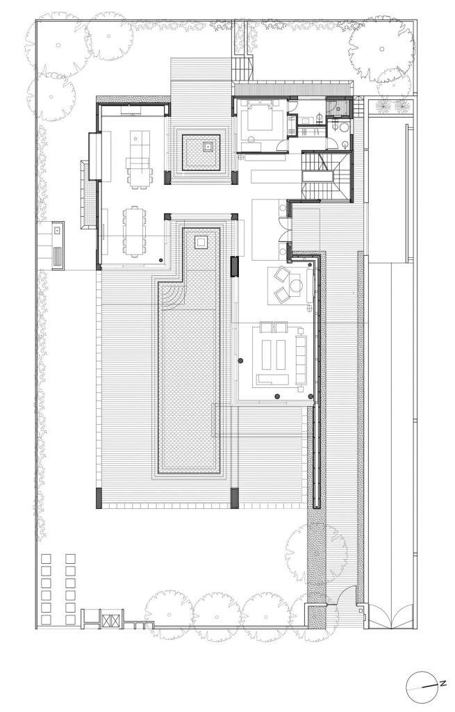 Floor Plans - Villa C Residence - Caesarea, Haifa, Israel