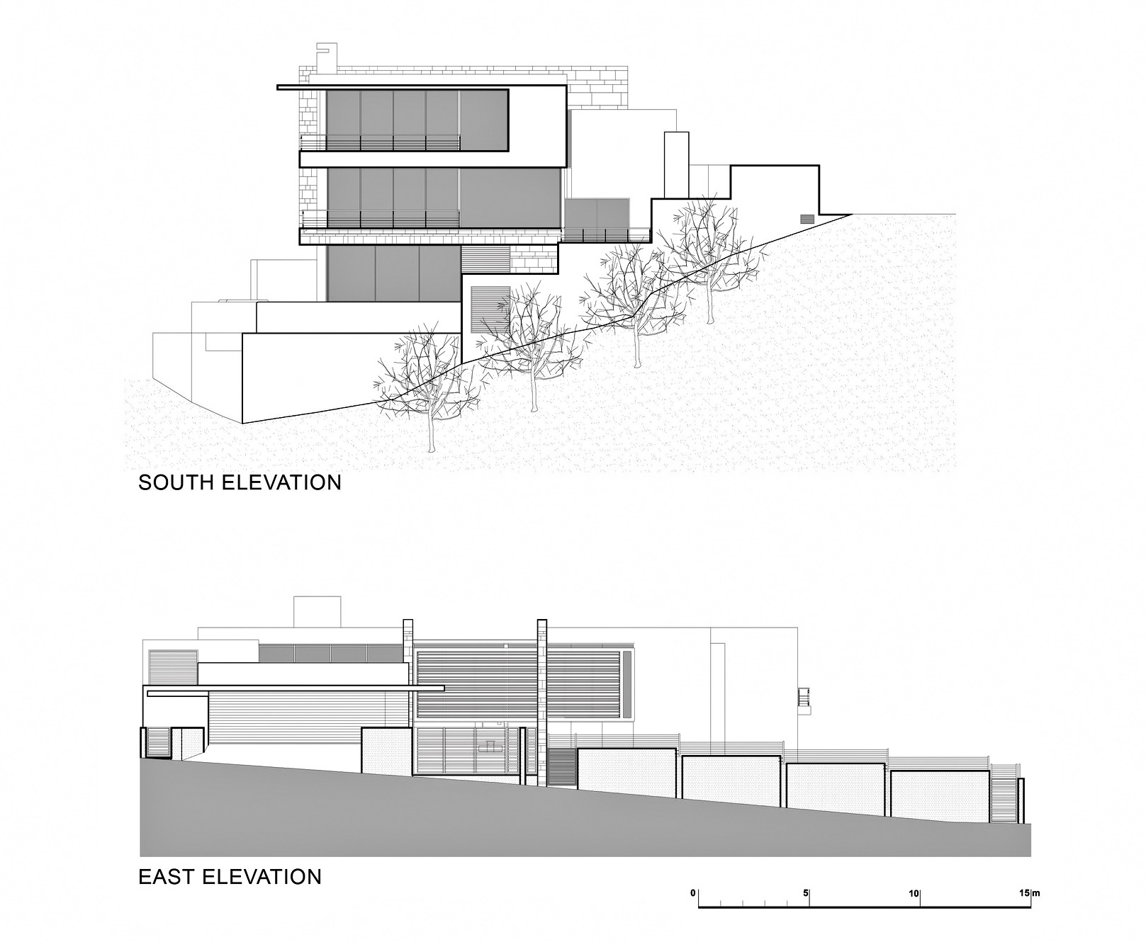 Elevations - St. Leon 10 Residence - Bantry Bay, Cape Town, Western Cape, South Africa