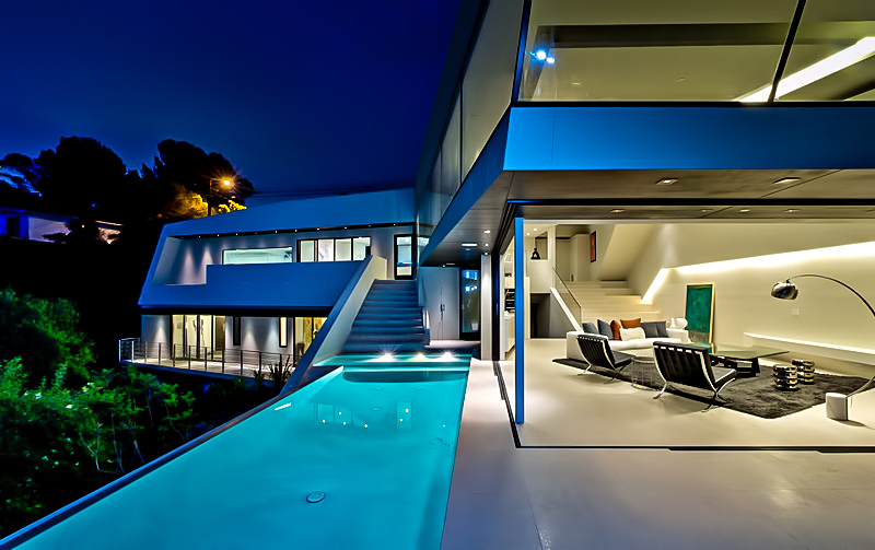 MUL Residence by VOID – 7691 Mulholland Drive, Los Angeles, CA, USA