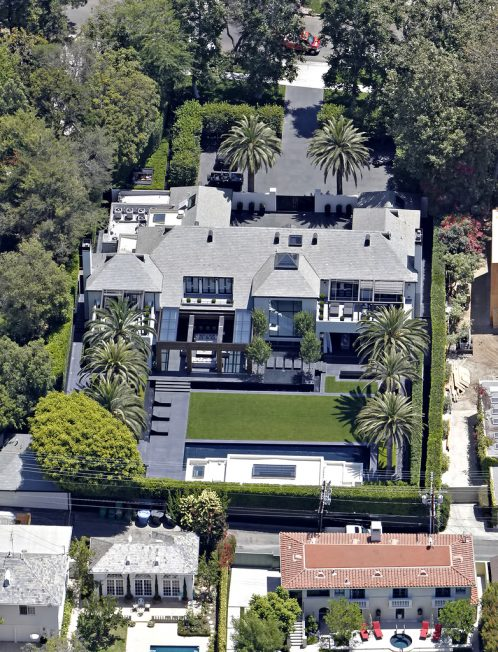Simon Cowell Residence - 717 N Palm Drive, Beverly Hills, CA, USA