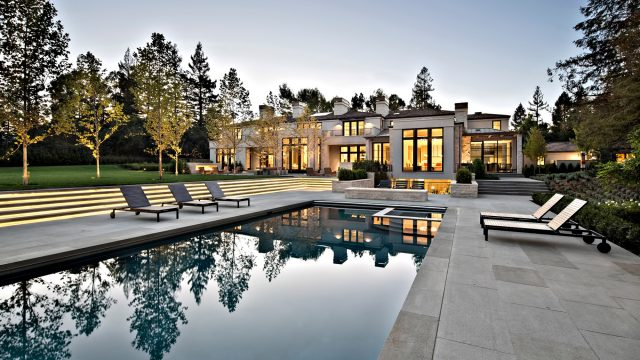 Billionaire Paul Allen Estate - 267 Camino Al Lago, Atherton, CA, USA