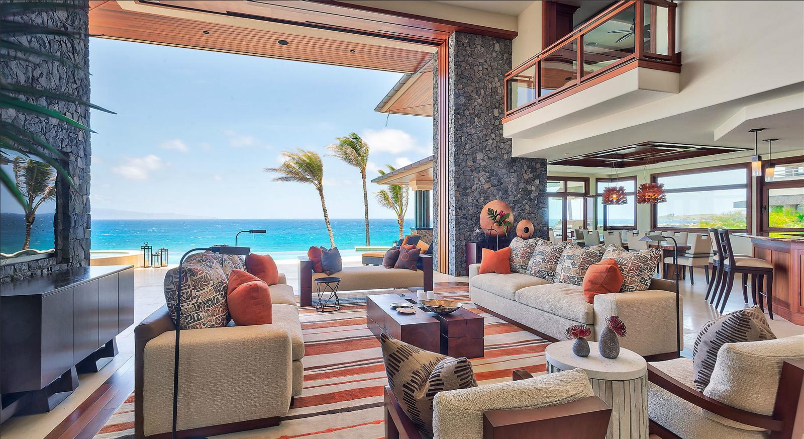 Maui Beachfront Estate - 3 Kapalua Place, Lahaina, HI, USA