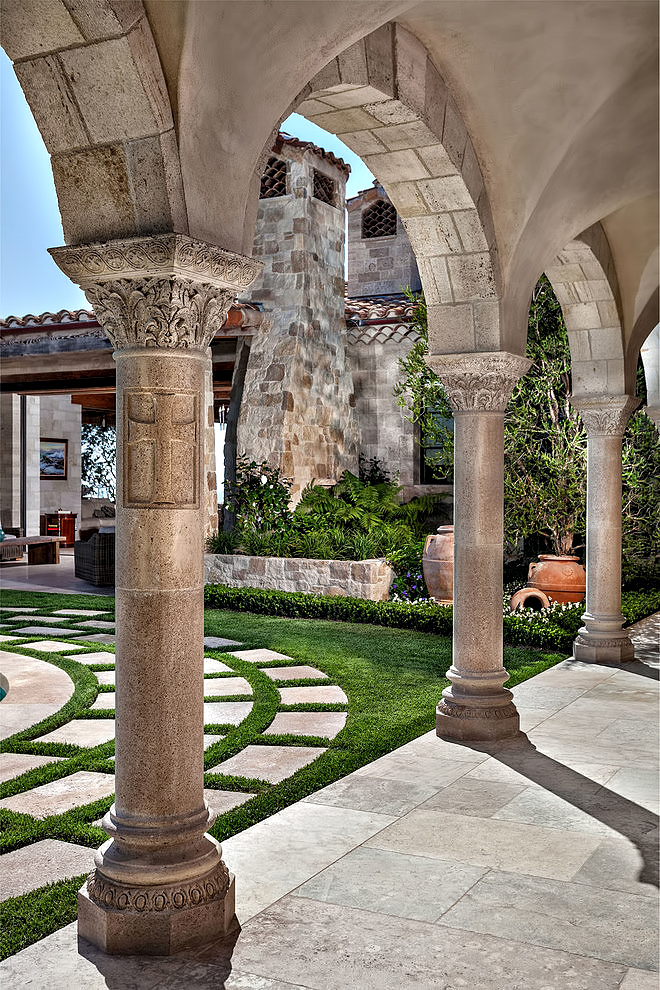 Romanesque Luxury Villa – The Strand at Headlands, Dana Point, CA, USA