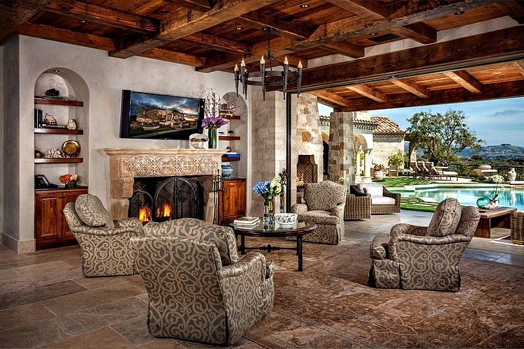Romanesque Luxury Villa - The Strand at Headlands, Dana Point, CA, USA