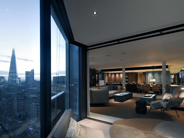 375 Million NEO Bankside Luxury Penthouse London England UK