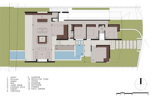 Floor Plans - Caya Seaman Luxury Residence - 43 Beach View Ave, Dana Point, CA, USA
